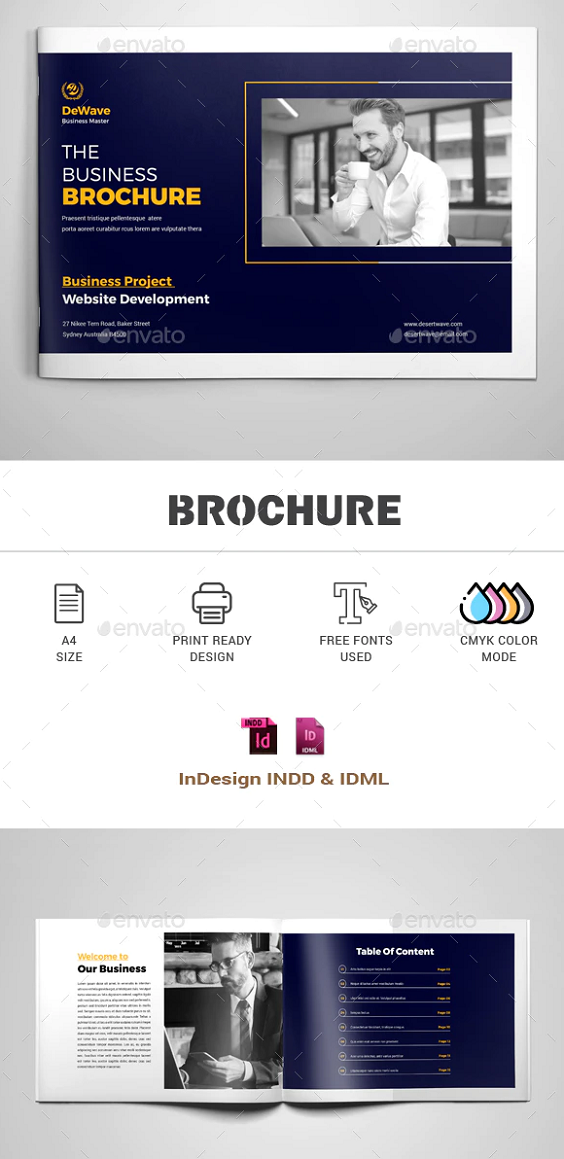 20 Pages Business Brochure Template