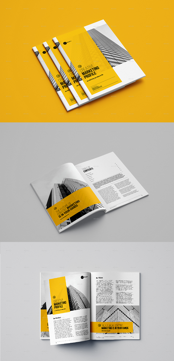 Corporate Brochure / Modern & Professional Brochure Template. This template is suitable for any project purpose. Very easy to use and customize. Features : - Sizes: International A4 & US Letter - 8 Page Indesign Document - Paragraph styles included - Editable Adobe Indesign File Included - Editable Adobe Illustrator File Included - Uses free fonts - Clean & professional design.