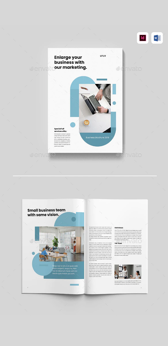 Photoshop & Word Brochure Design