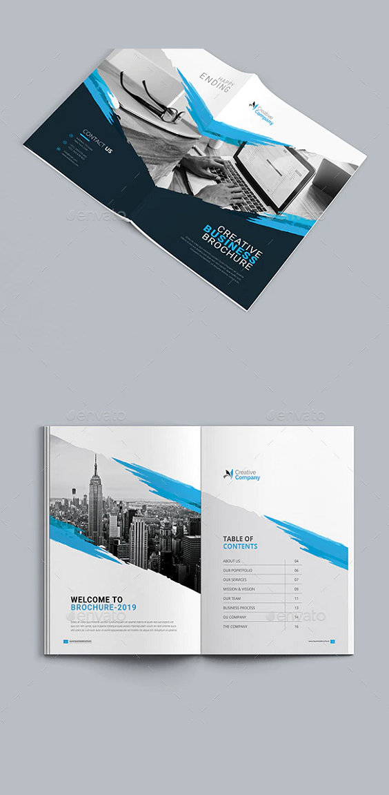 Sample A4 Brochure Design