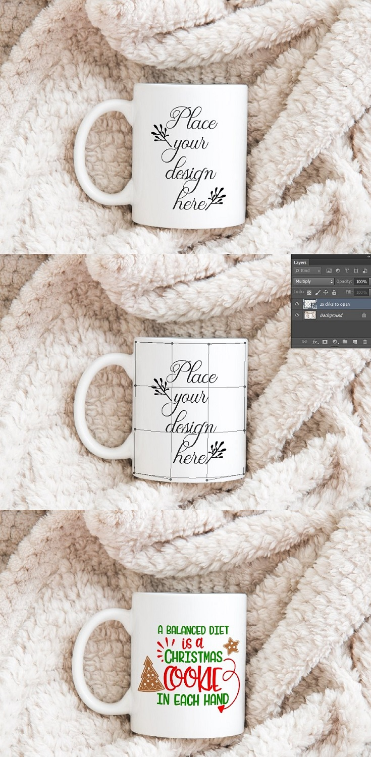 Beautiful Winter Fall Coffee Mug Mockup This beautiful winter fall coffee mug mock up is great to display your design or text on social media. You can use this digital files commercially for text display, vintage illustrations, display art on blogs, instagram, shops, web design presentation, but don't sell, share or claim this work as your own design.