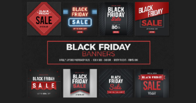 Graphic Black Friday Banner Templates