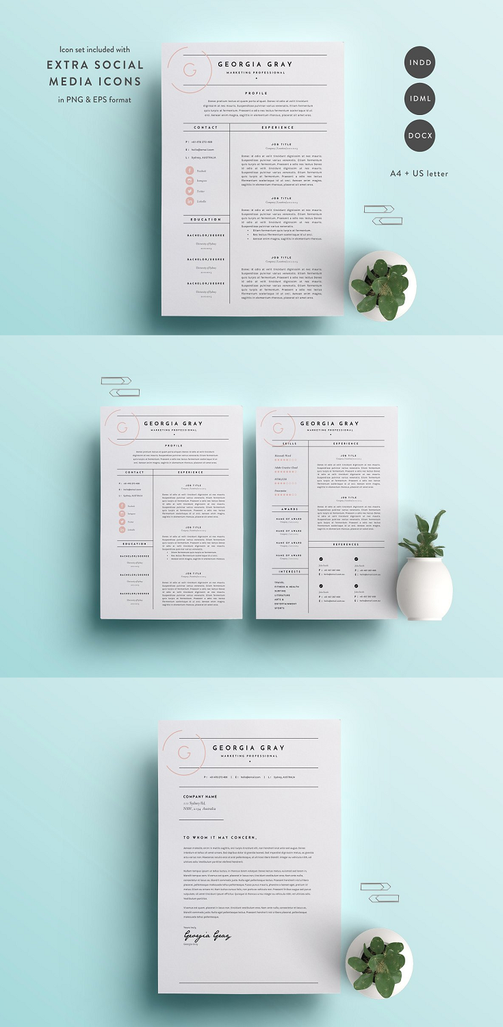 Welcome to The Template Depot! We produce high-quality, creative templates that may help you land your dream job or simply create a better looking business. Professionally designed, we take a unique approach to boring business documents, creating modern, sophisticated and easy to use templates just for you!