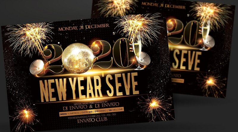 New Year Party Flyer Designs 2020