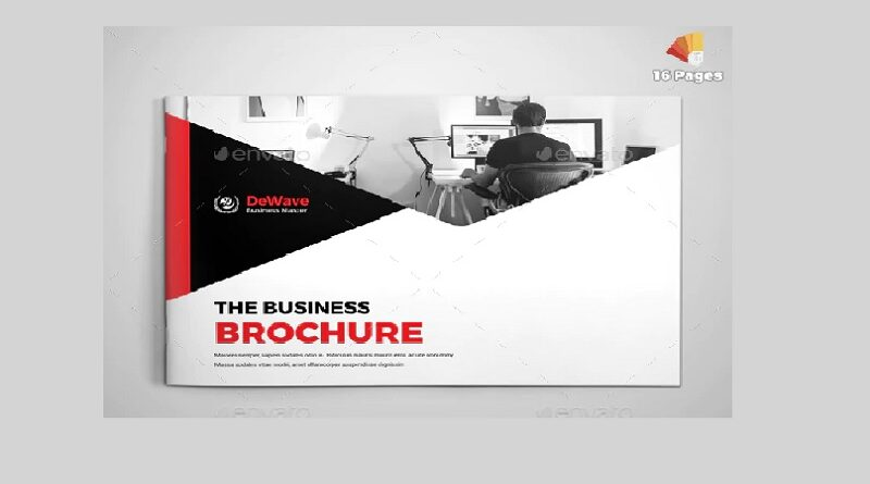 Sample Brochure PSD Designs