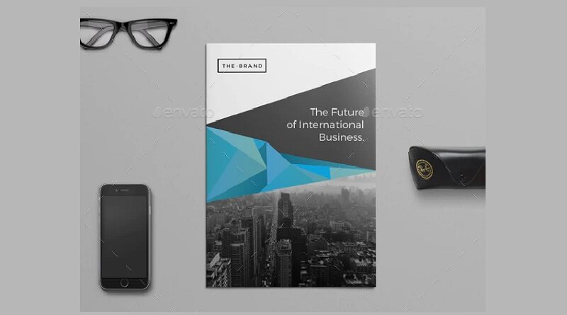 The Corporate Brochure PSD Templates