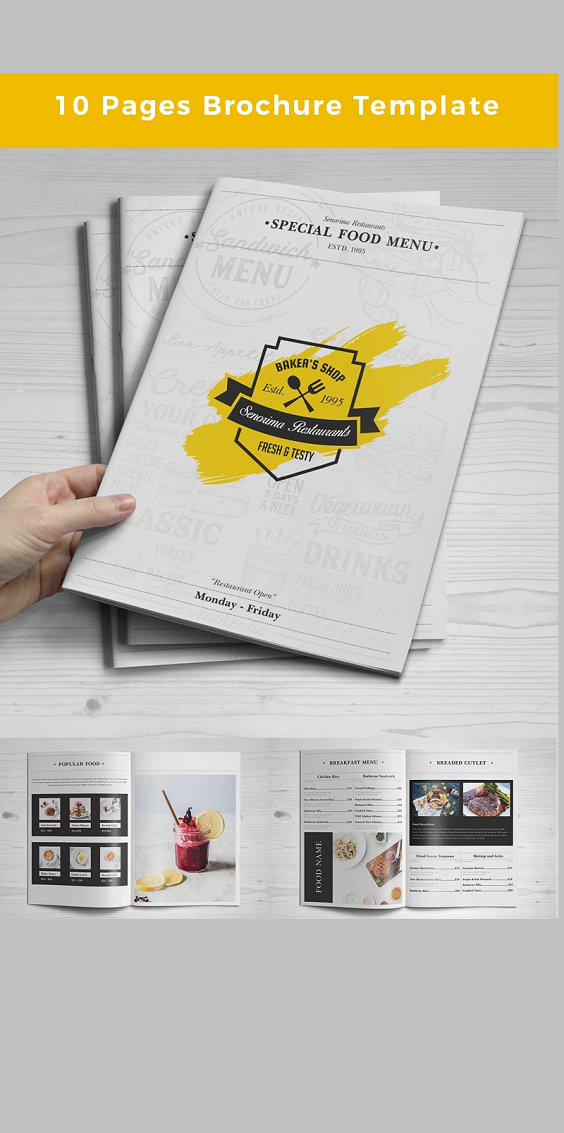 10 Pages Brochure Corporate Template