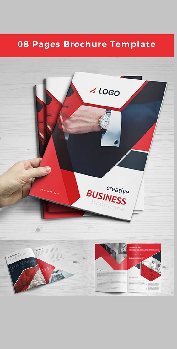 Sample Brochure Corporate Layout