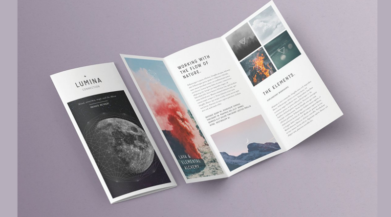Trifold Brochure psd designs