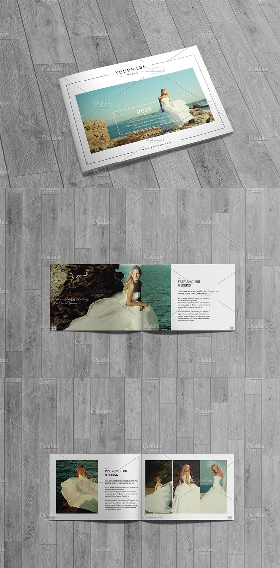 Wedding Photography Catalog Brochure