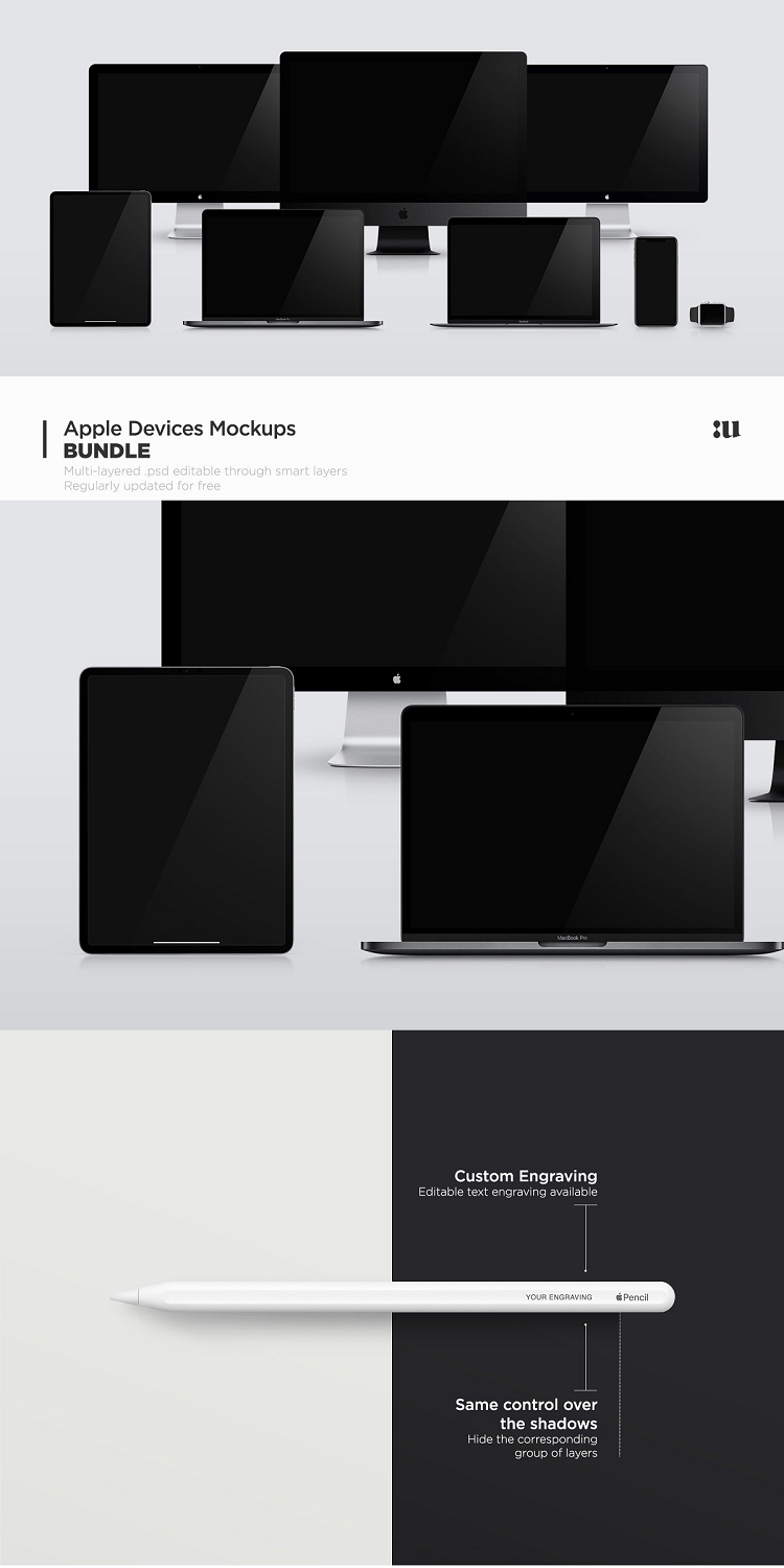 Apple Devices Mockups Bundle