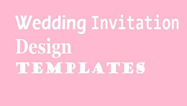 Wedding Suite Templates