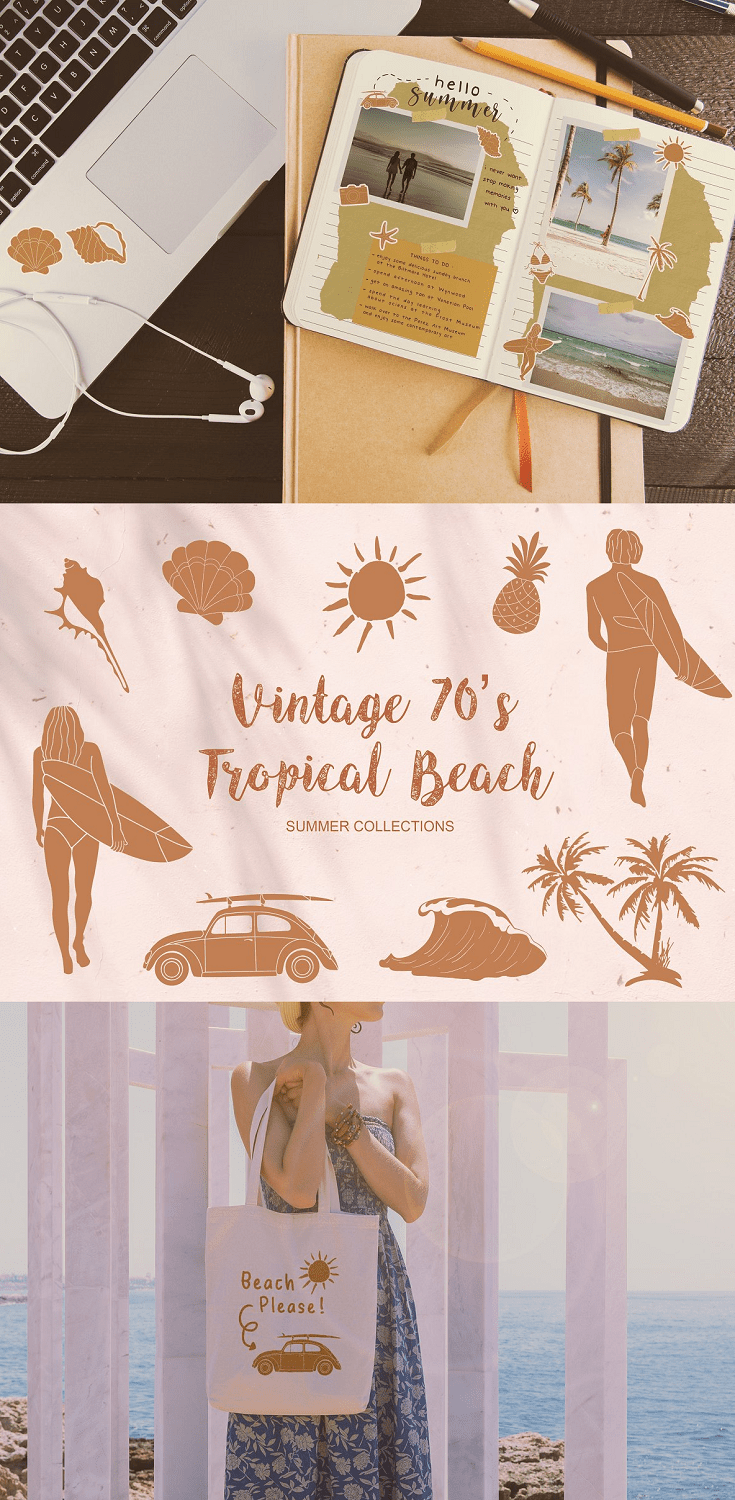 Summer Tropical Beach Collections