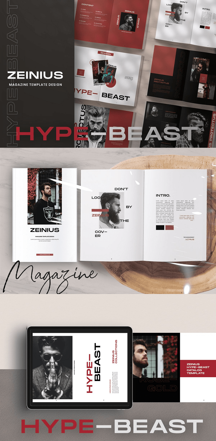 This is 30-web page terrific style & life-style magazine template with variant format for blend and healthy web page. This is for e-book mag, portfolio, photography, and more. Clean, cutting-edge and absolutely customizable. Ideal for publications, photography, style or product brochures. Just drop to your personal pictures and texts, and it's Ready to Print.