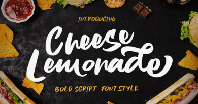 Handwriting Brush Fonts