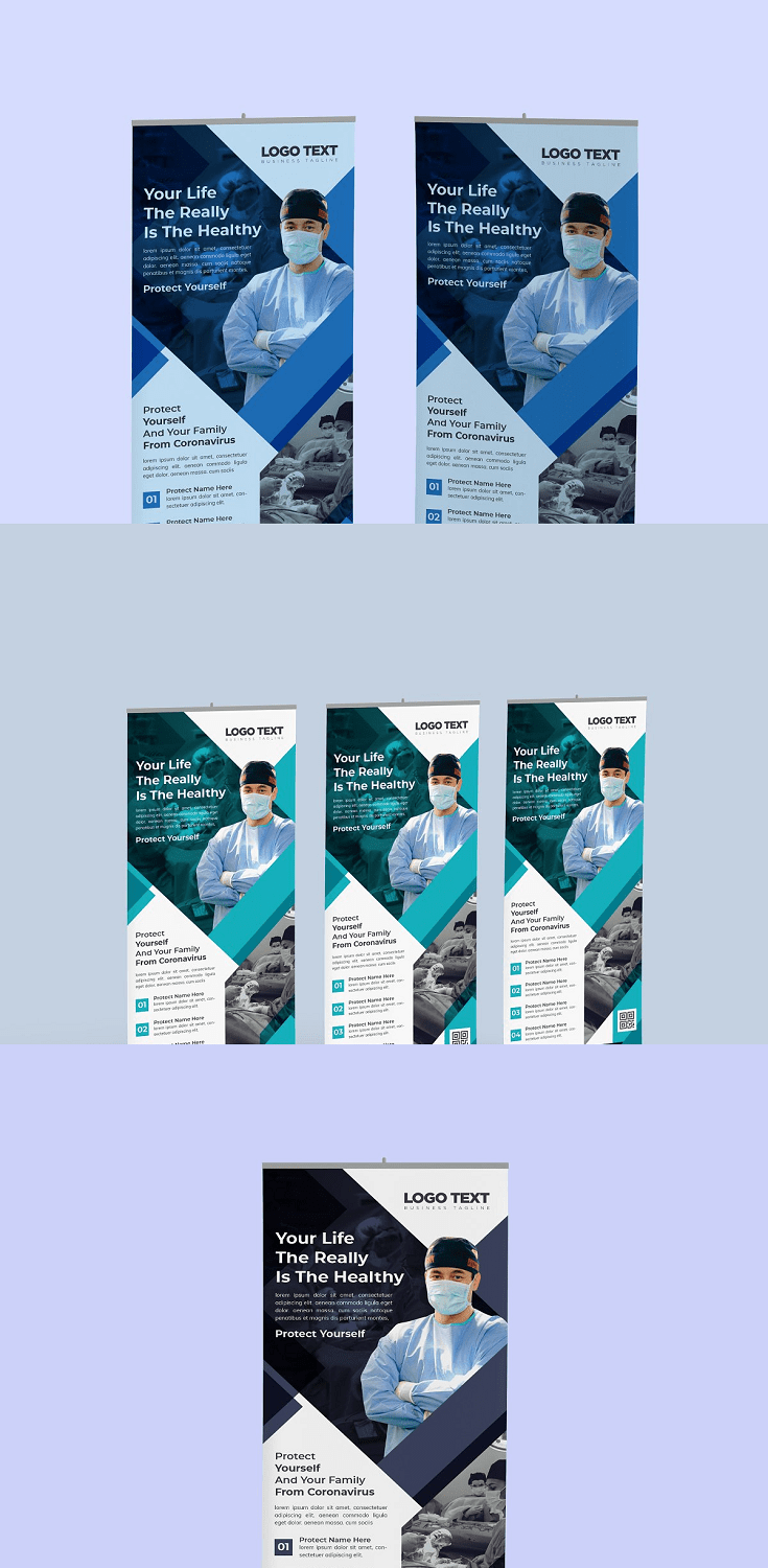 Healthcare & medical roll up design