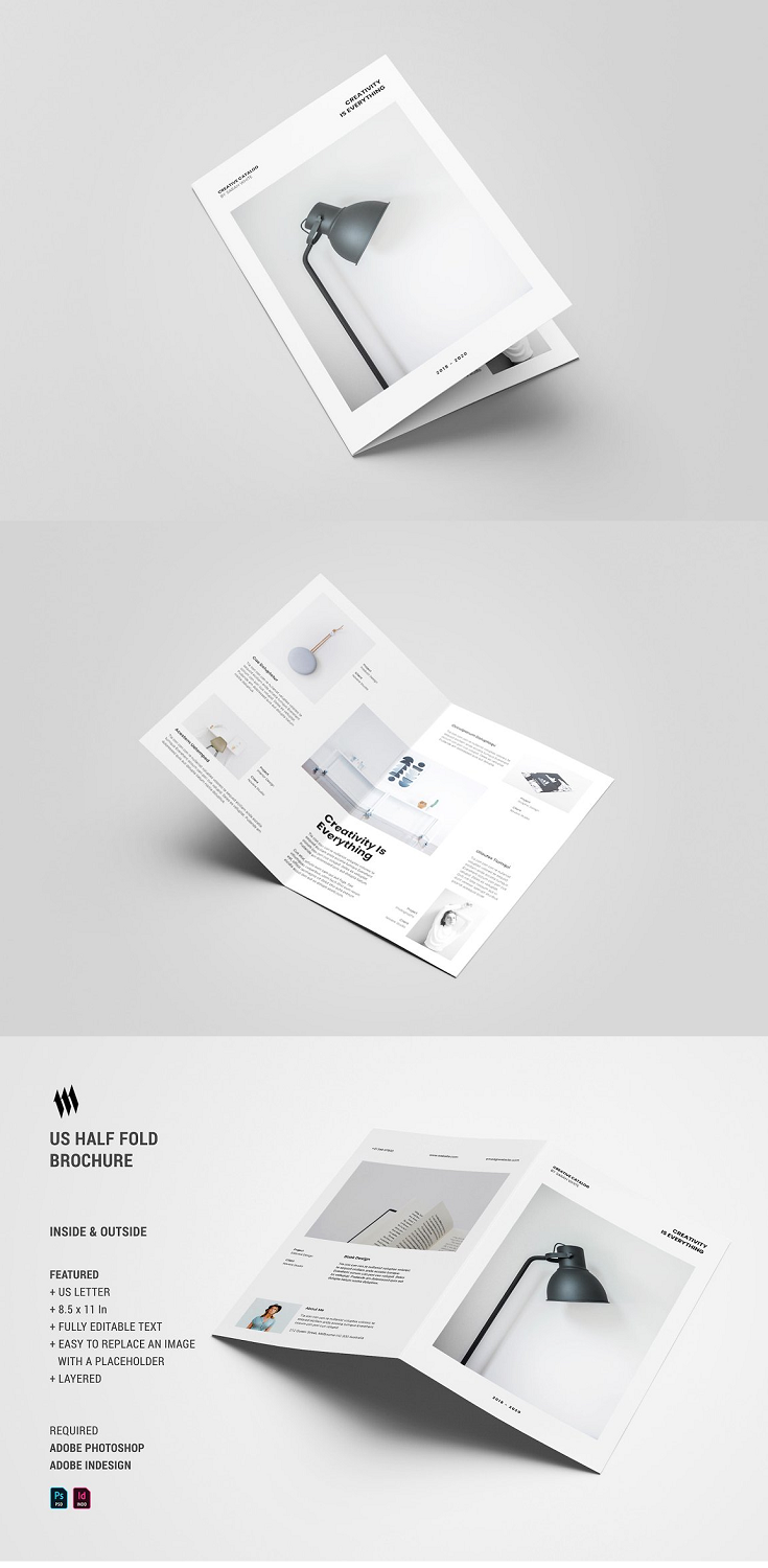 Bifold Portfolio is multi purpose brochure template, suitable for any promotional and publication project purpose like: travel, food, lifestyle, fashion and Design