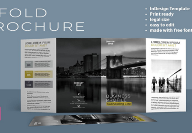 Tri-Fold & Bi-Fold Brochures Templates (Updated August 2020)