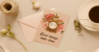 Watercolor vintage clock clip arts