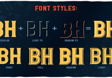 New Premium Font Styles in October 2020