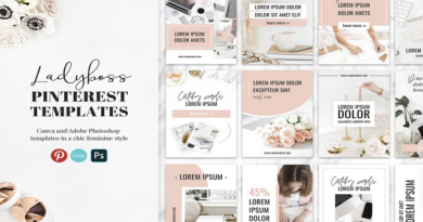 Sample Pinterest Templates